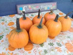 Pumpkin Decorating Saturday at 3:00 pm